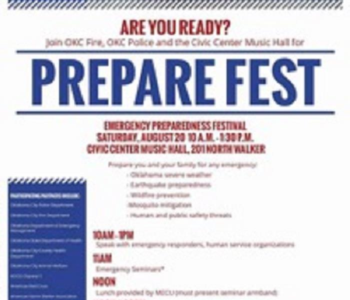 SERVPRO of Norman Invites You to Prepare Fest!